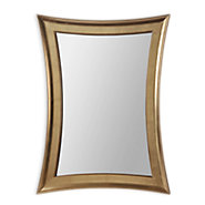 Picture of Golden Hourglass Wall Mirror