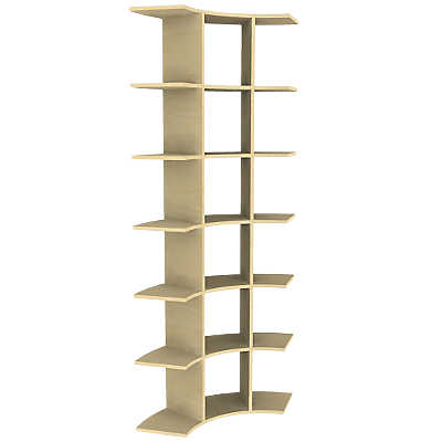 Picture of 6' Contour Tower Display