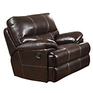 Picture of Kevin Leather Swivel Glider Recliner