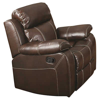 Picture of Myleene Leather Glider Recliner