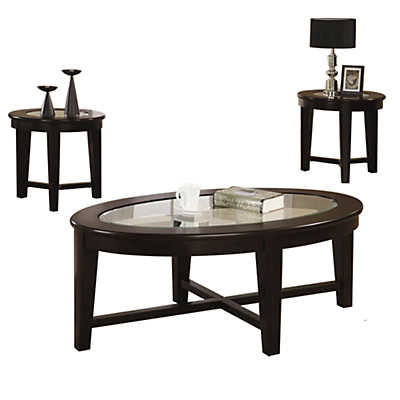 Picture of Racetrack 3 Piece Occasional Table Set
