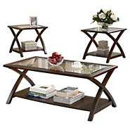 Picture of X-Base 3 Piece Occasional Table Set