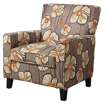 Picture of Alvah Accent Chair in Patterned Brown