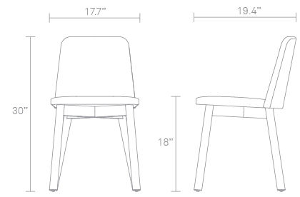 Knicker Chair Dimensions