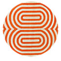 Picture of Thomas Paul Oval Rug, Coral