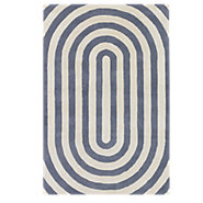 Picture of Thomas Paul Oval Rug, Slate