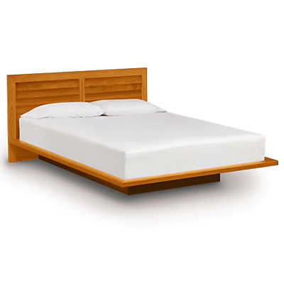 """Picture of Moduluxe 35"""" High Bed with Clapboard Headboard"""