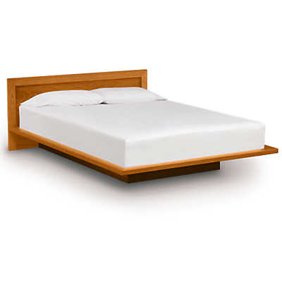 "Picture of Moduluxe 29"" High Bed with Veneer Headboard"