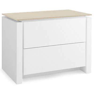 Picture of Mag Matte Optic White Nightstand