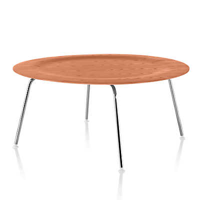 Picture of Eames Molded Plywood Coffee Table with Metal Base