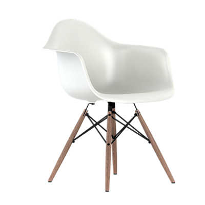 Picture of Eames Plastic Armchair, Dowel Leg Base