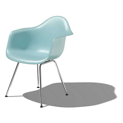 Picture of Eames Molded Plastic Armchair with 4-Leg Base
