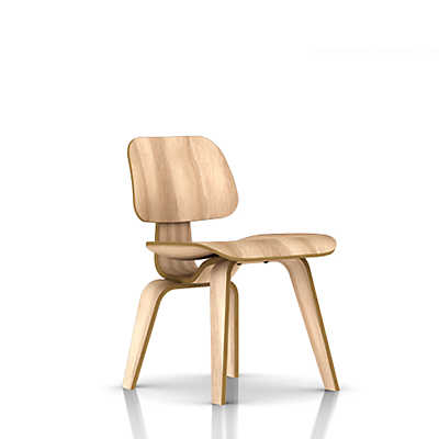 Picture of Herman Miller Eames Plywood Dining Chair, Wood Legs