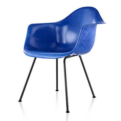 Picture of Eames Molded Fiberglass Armchair, 4-Leg Base