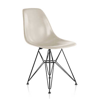 Picture of Eames Molded Fiberglass Side Chair, Wire Base