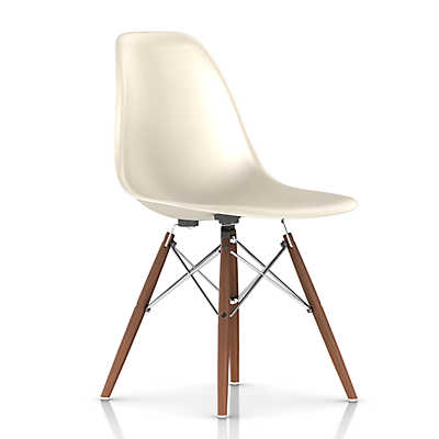 Picture of Eames Molded Fiberglass Side Chair, Dowel Leg Base