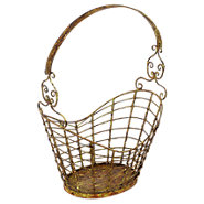 Picture of Iron Magazine Basket