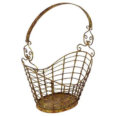 Picture of Iron Magazine Basket