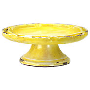 Picture of Yellow Ceramic Cake Stand