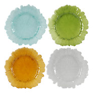 Picture of Colored Glass Plates, Set of 12
