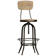 Picture of Ford Bar Stool with Back
