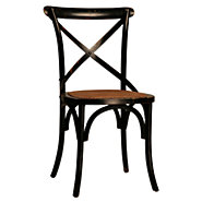 Picture of Gaston Black Dining Chair