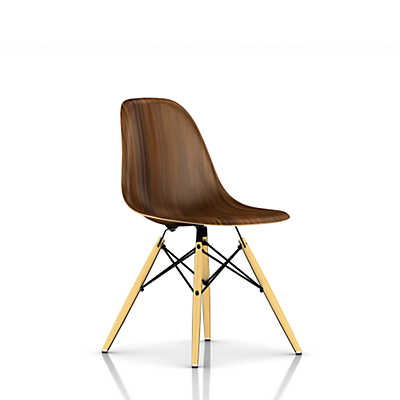 Picture of Eames Molded Wood Side Chair with Dowel Leg Base
