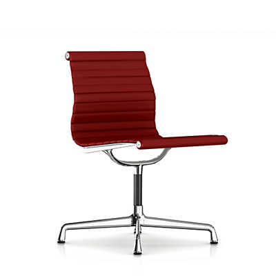 Picture of Herman Miller Eames Aluminum Armless Side Chair, Fabric