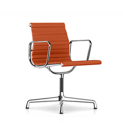 Picture of Herman Miller Eames Aluminum Side Chair with Arms