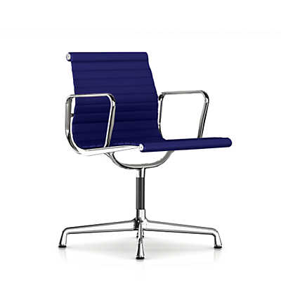 Picture of Herman Miller Eames Aluminum Side Chair with Arms, Fabric