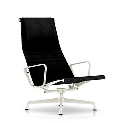 Picture of Herman Miller Eames Aluminum Lounge Chair with Headrest, Fabric