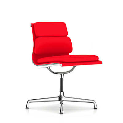 Picture of Herman Miller Eames Soft Pad Armless Side Chair, Fabric
