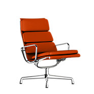 Picture of Eames Soft Pad Lounge Chair, Swivel Base