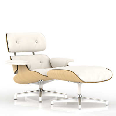 Picture of Eames Lounge Chair, White Ash