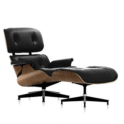 Show details for eames tall lounge chair and ottoman - Herman miller lounge chair and ottoman ...