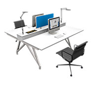 Picture of EYHOV Double Desk System
