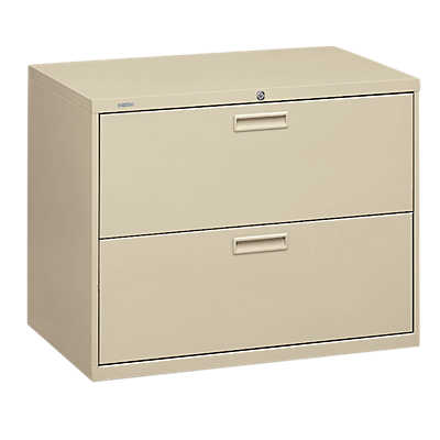 "Picture of Basyx 400 2-Drawer Lateral File, 36"" Wide"