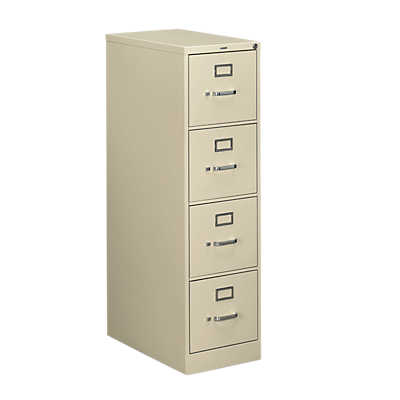 "Picture of Hon 510 4-Drawer Letter File, 52"" x 15"" x 25"""