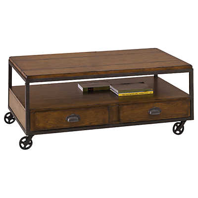 Baja Rectangular Storage Cocktail Table Smart Furniture