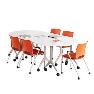 Picture of Motivate Conference Table, Fixed Bases