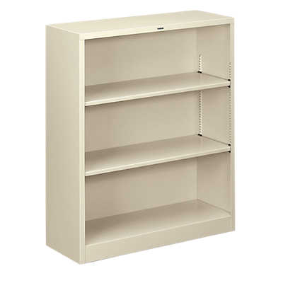 Picture of Brigade Metal Bookcase, 3 Shelf