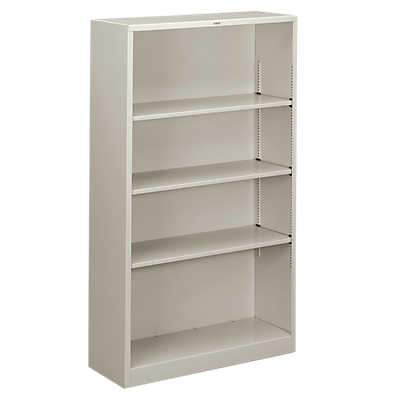 Picture of Brigade Metal Bookcase, 4 Shelf