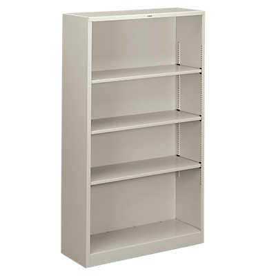 Picture of Brigade Metal Bookcase, 4 Shelf