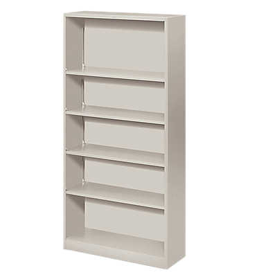Picture of Brigade Metal Bookcase, 5 Shelf