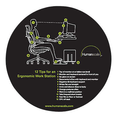 Picture of 12 Tips Ergo Mouse Pad