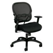 Picture of Basyx HVL712 Work Chair, Mesh Back