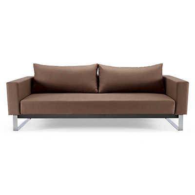 Cassius sleek sofa bed lounger smartfurniturecom for Sleek sofa bed