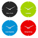 Picture of International Clocks, Set of 4