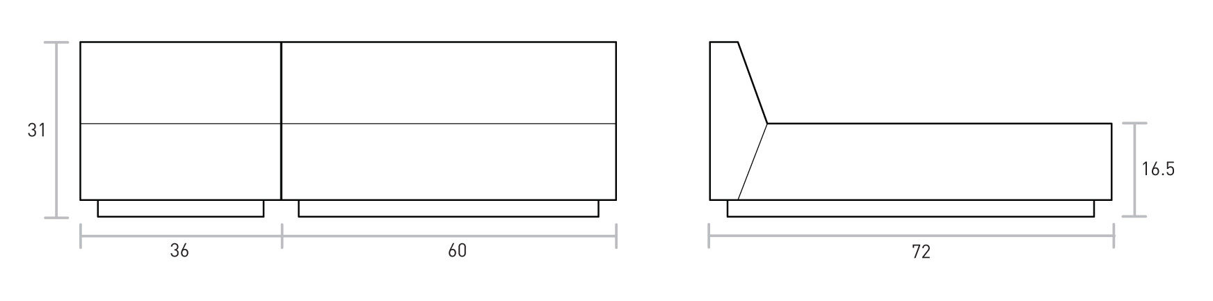 Jarvis Bisectional Dimensions