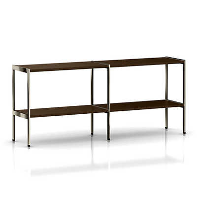 Picture of Ward Bennett H Frame Credenza, Open Shelf